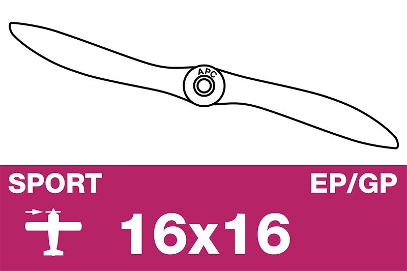 APC - Sport Propeller - EP/GP - 16X16