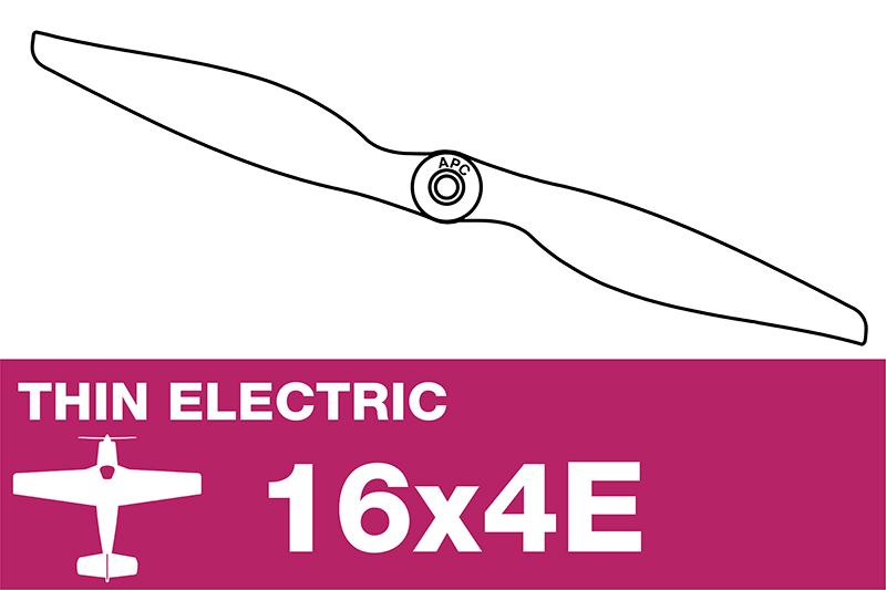 APC - Electro Propeller - Thin - 16X4E