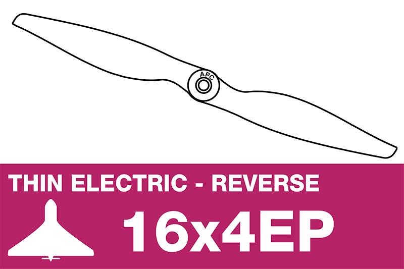 APC - Electro Propeller - Thin - Pusher / CCW - 16X4EP