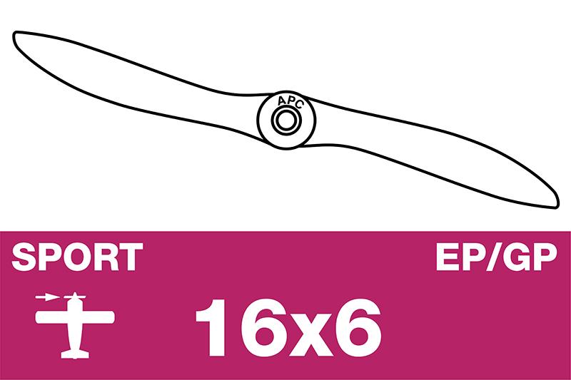 APC - Sport Propeller - EP/GP - 16X6