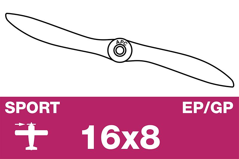 APC - Sport Propeller - EP/GP - 16X8