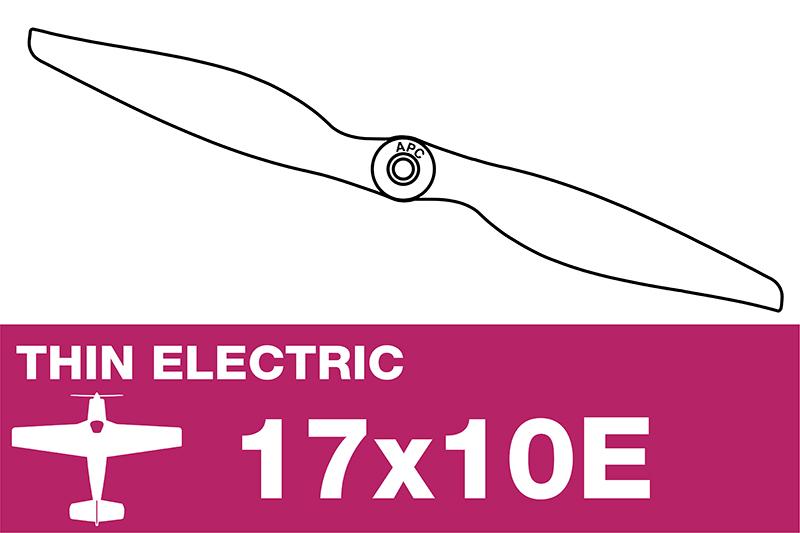 APC - Electro Propeller - Thin - 17X10E