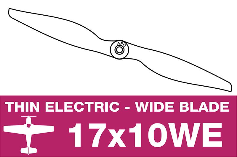 APC - Electro Propeller - 17X10WE