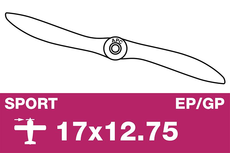 APC - Sport Propeller - EP/GP - 17X12.75