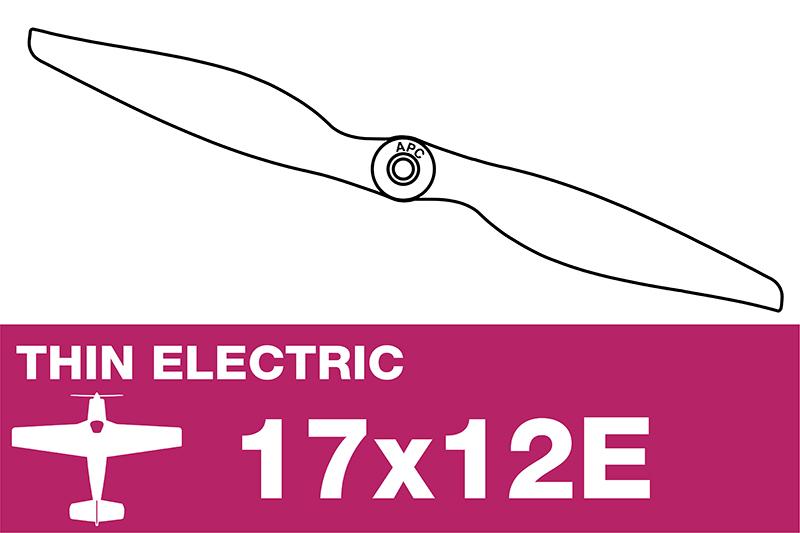 APC - Electro Propeller - Thin - 17X12E