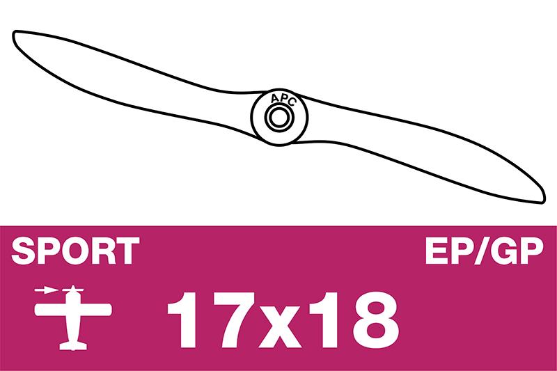 APC - Sport Propeller - EP/GP - 17X18