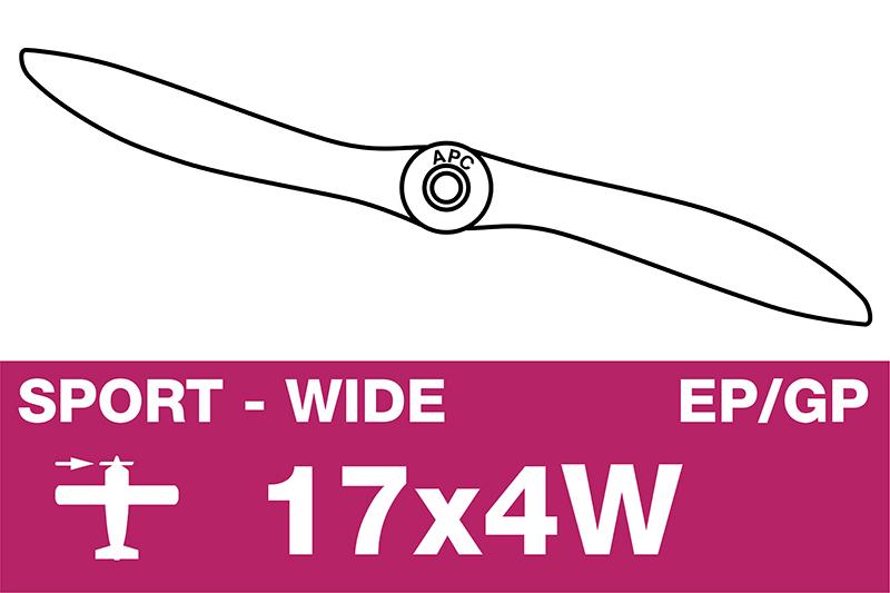 APC - Sport Propeller - EP/GP - 17X4W
