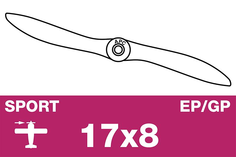 APC - Sport Propeller - EP/GP - 17X8