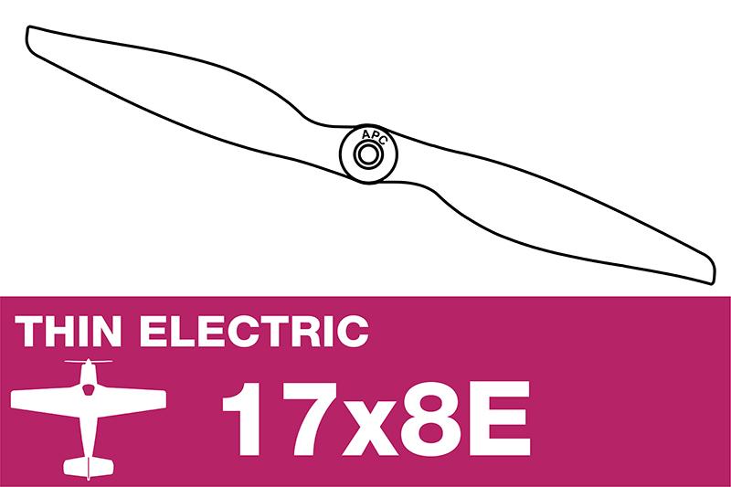 APC - Electro Propeller - Thin - 17X8E