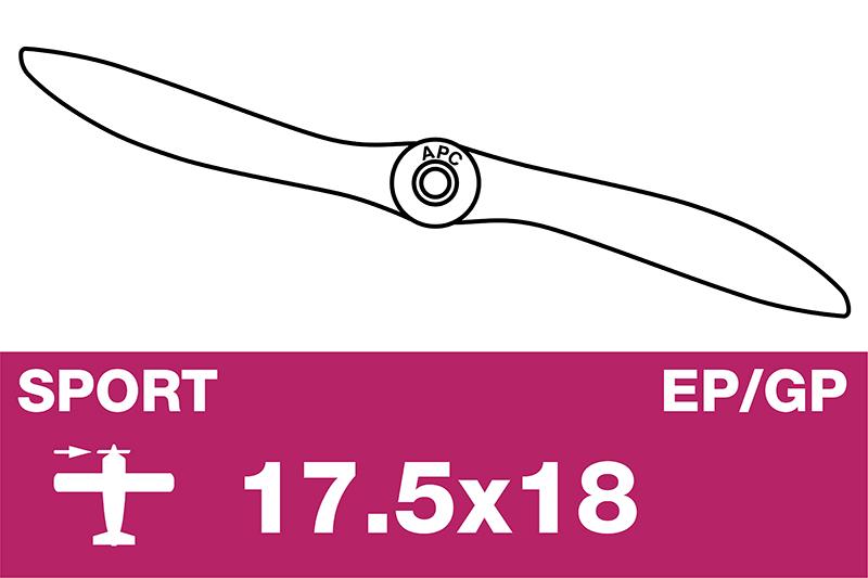 APC - Sport Propeller - EP/GP - 17.5X18