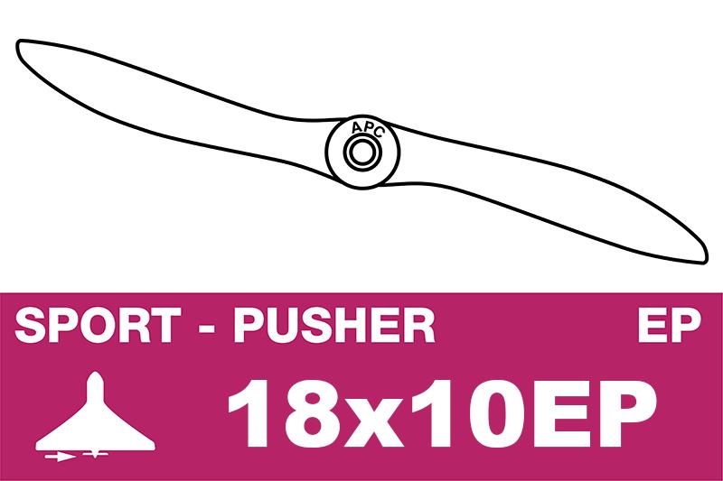 APC - Electro Propeller - Thin - Pusher / CCW - 18X10EP