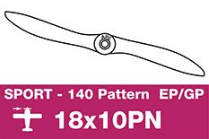 APC - Sport Propeller - Thin - EP/GP - 18X10PN