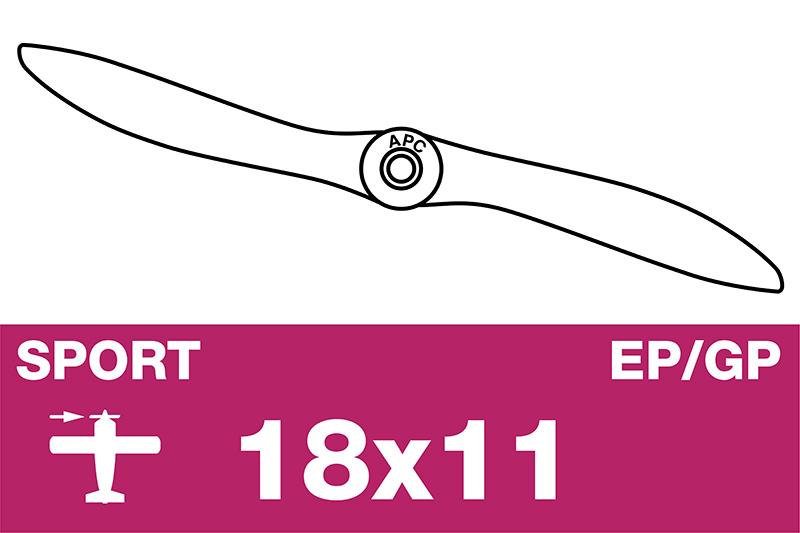 APC - Sport Propeller - EP/GP - 18X11