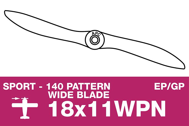 APC - Sport Propeller - Thin - EP/GP - 18X11WPN