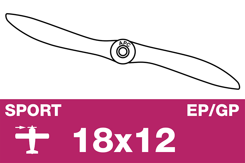 APC - Sport Propeller - EP/GP - 18X12