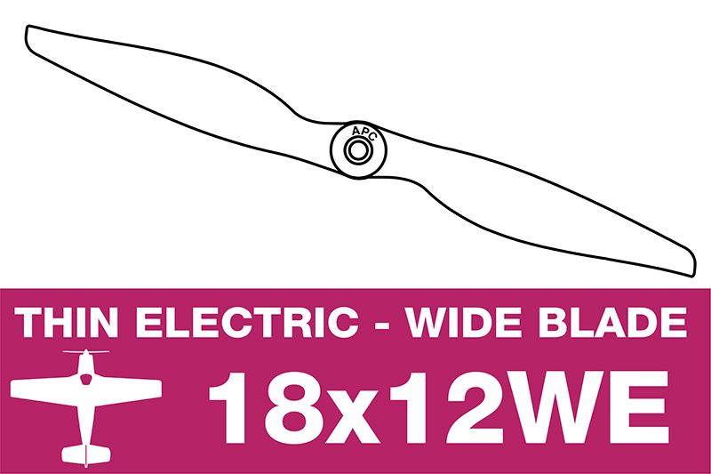 APC - Electro Propeller - 18X12WE