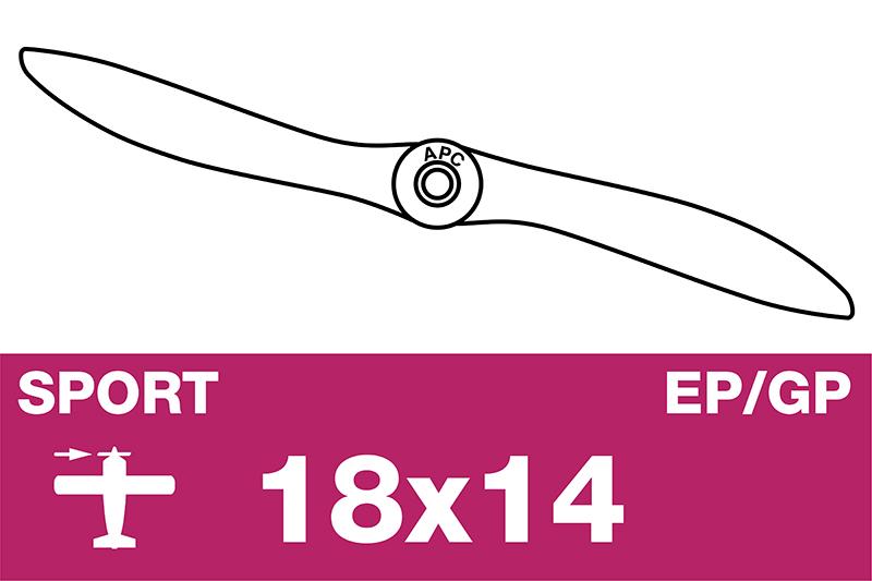 APC - Sport Propeller - EP/GP - 18X14