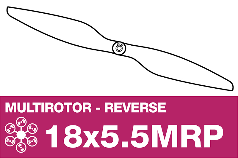APC - MULTI ROTOR Propeller - Pusher / CCW - 18X5.5MRP