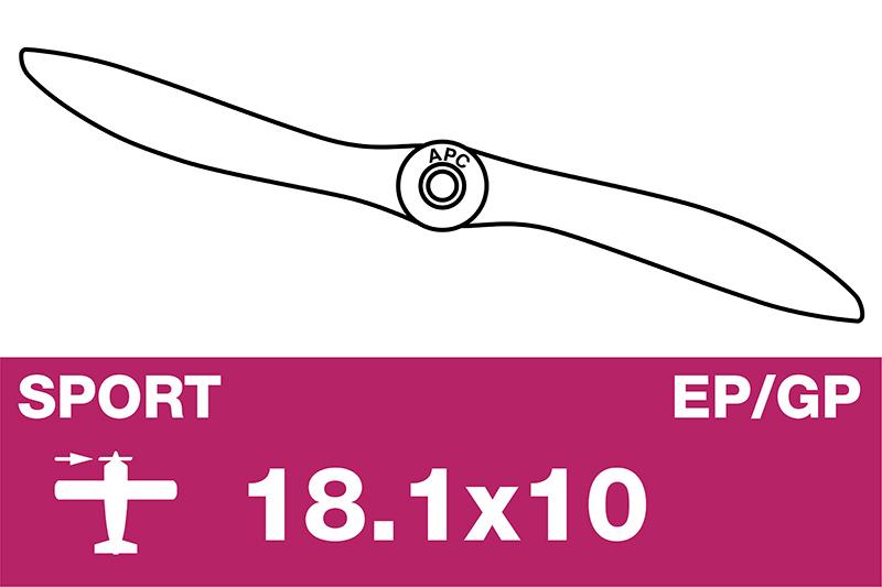 APC - Sport Propeller - EP/GP - 18.1X10