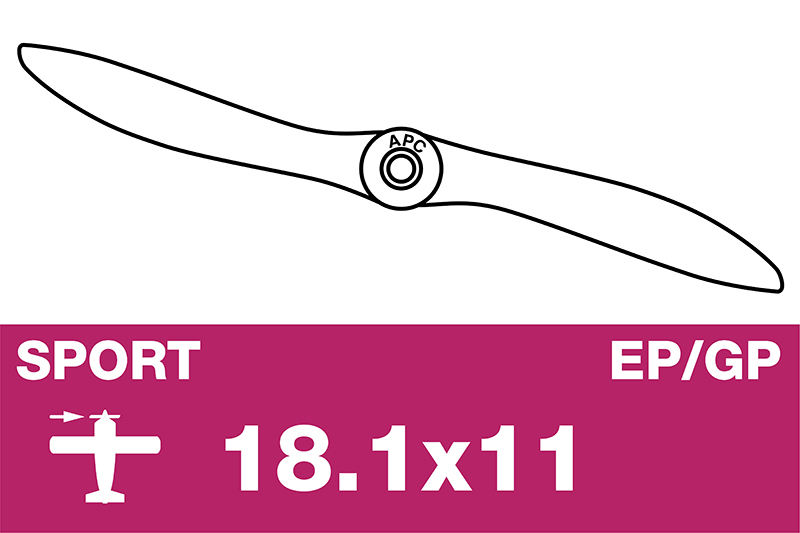 APC - Sport Propeller - EP/GP - 18.1X11