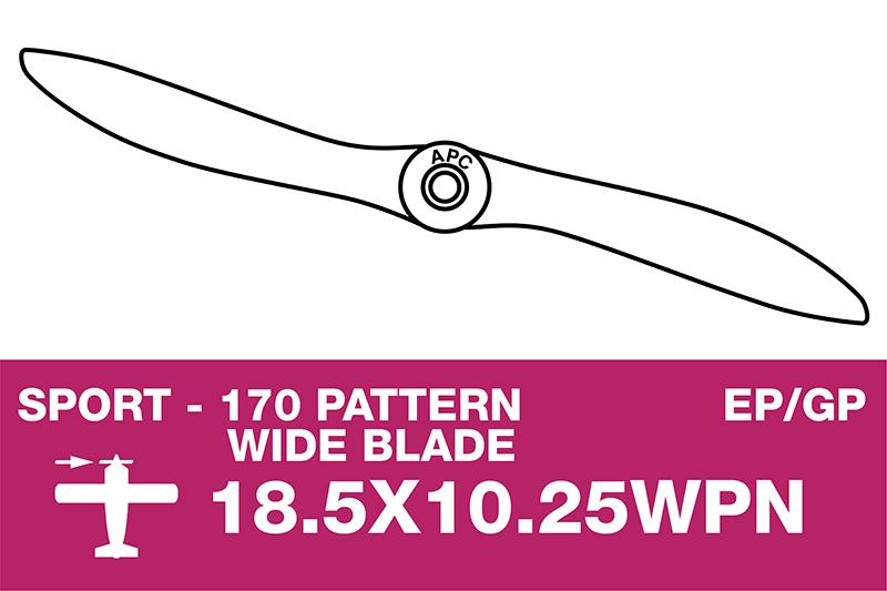 APC - Sport Propeller - Thin - EP/GP - 18.5X10.25WPN