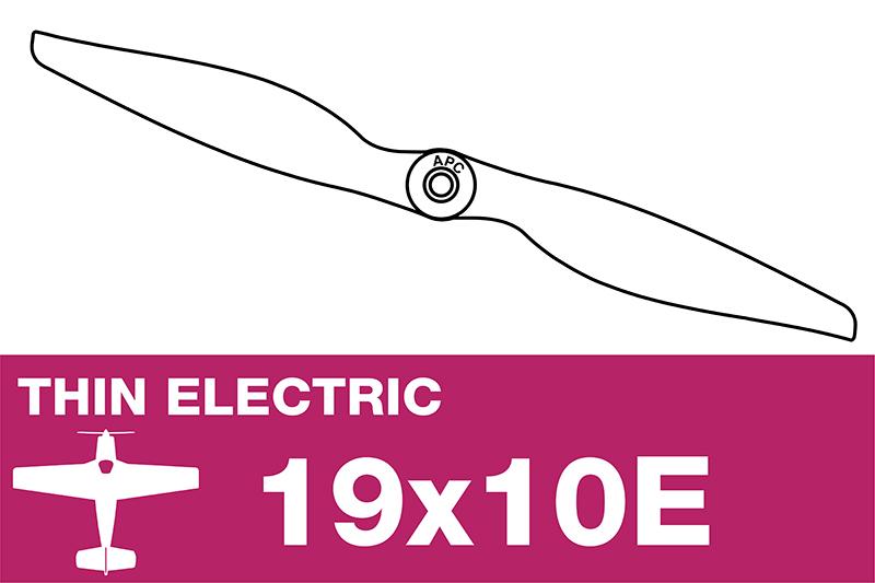 APC - Electro Propeller - Thin - 19X10E