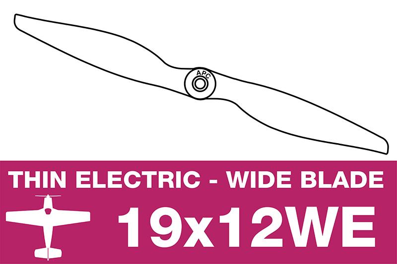 APC - Electro Propeller - 19X12WE