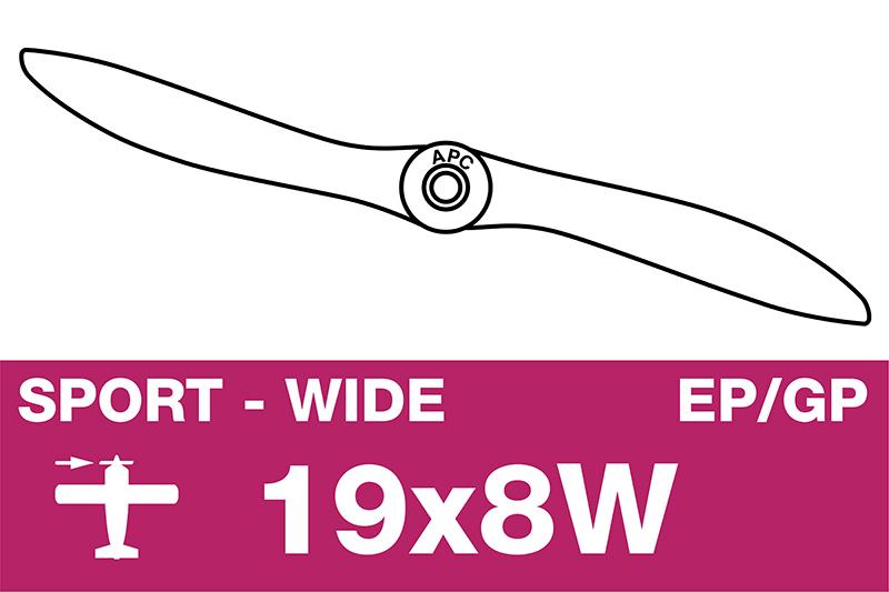 APC - Sport Propeller - EP/GP - 19X8W