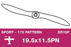 APC - Sport Propeller - Thin - EP/GP - 19.5X11.5PN