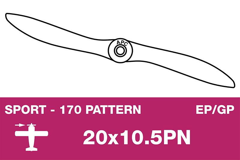 APC - Sport Propeller - Thin - EP/GP - 20X10.5PN