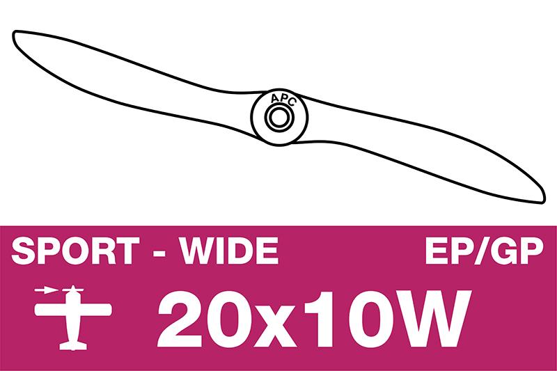 APC - Sport Propeller - EP/GP - 20X10W