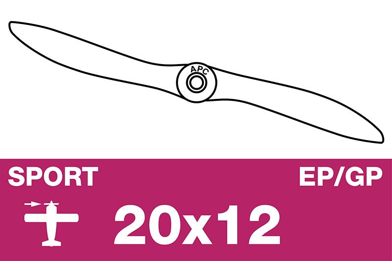 APC - Sport Propeller - EP/GP - 20X12