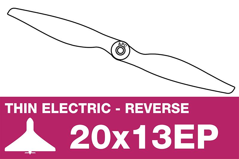 APC - Electro Propeller - Thin - Pusher / CCW - 20X13EP