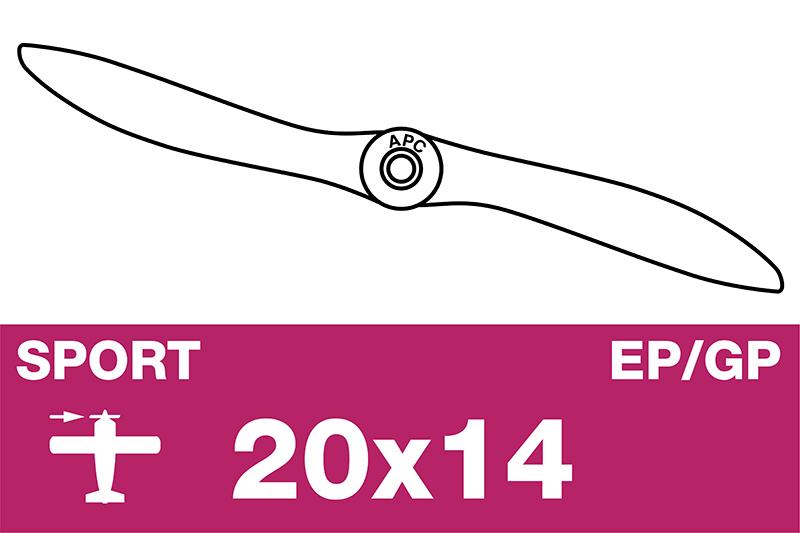APC - Sport Propeller - EP/GP - 20X14