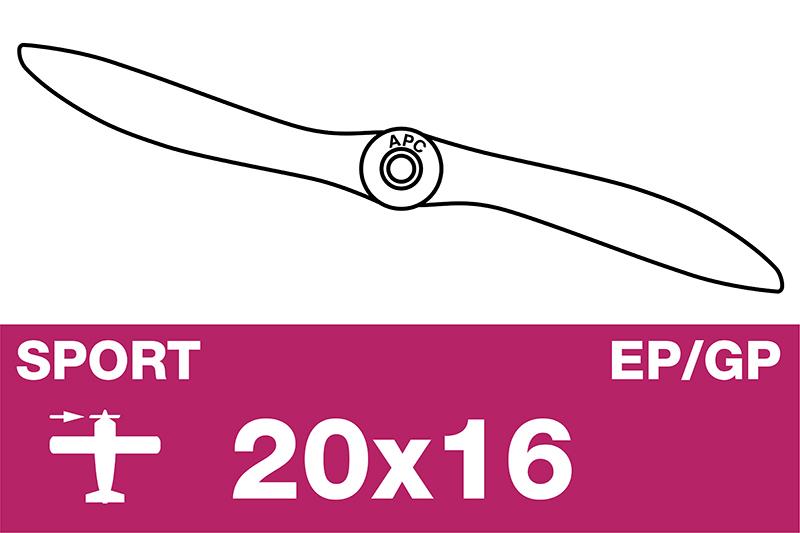 APC - Sport Propeller - EP/GP - 20X16