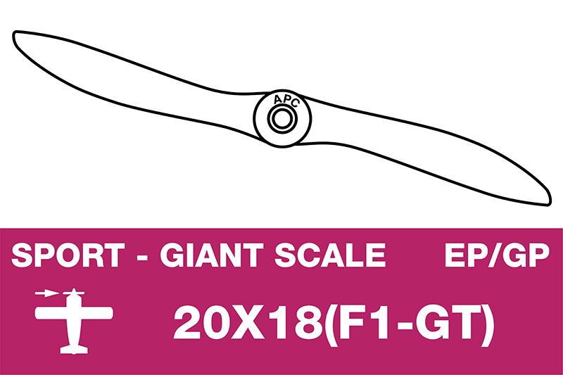 APC - Sport Propeller - Giant scale Formula GT - 20X18(F1-GT)