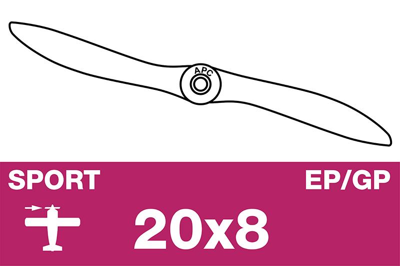 APC - Sport Propeller - EP/GP - 20X8