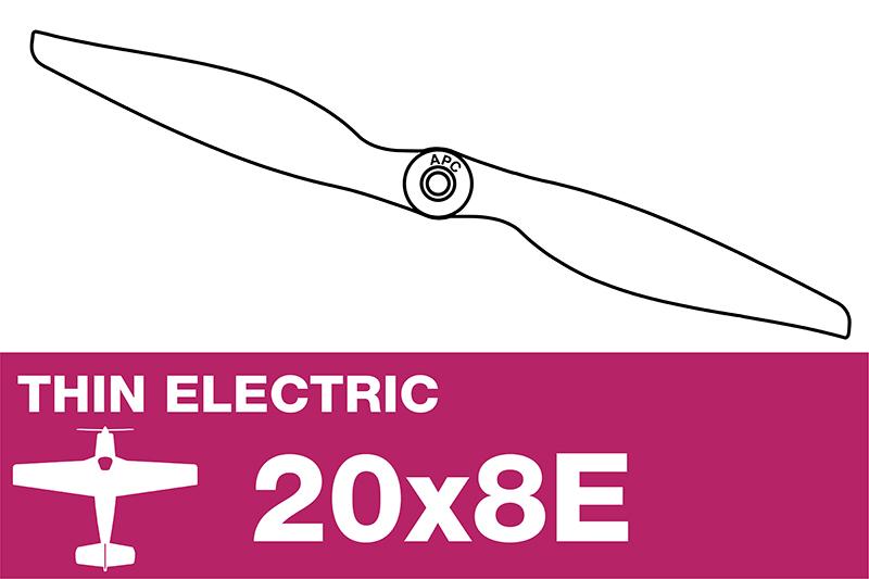 APC - Electro Propeller - Thin - 20X8E