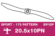 APC - Sport Propeller - Thin - EP/GP - 20.5X10PN