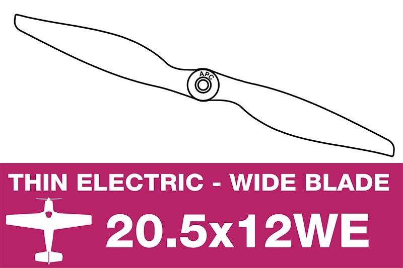 APC - Electro Propeller - 20.5X12WE