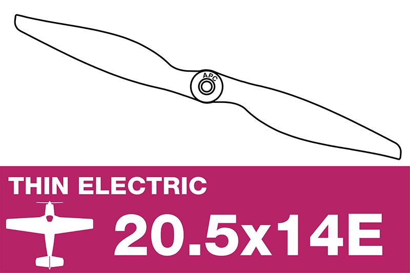 APC - Electro Propeller - Thin - 20.5X14E
