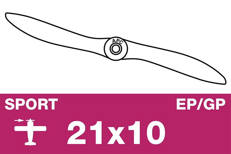 APC - Sport Propeller - EP/GP - 21X10W