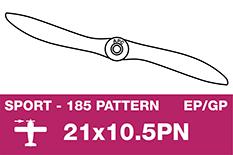 APC - Sport Propeller - Thin - EP/GP - 21X10.5PN