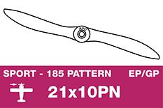 APC - Sport Propeller - Thin - EP/GP - 21X10PN