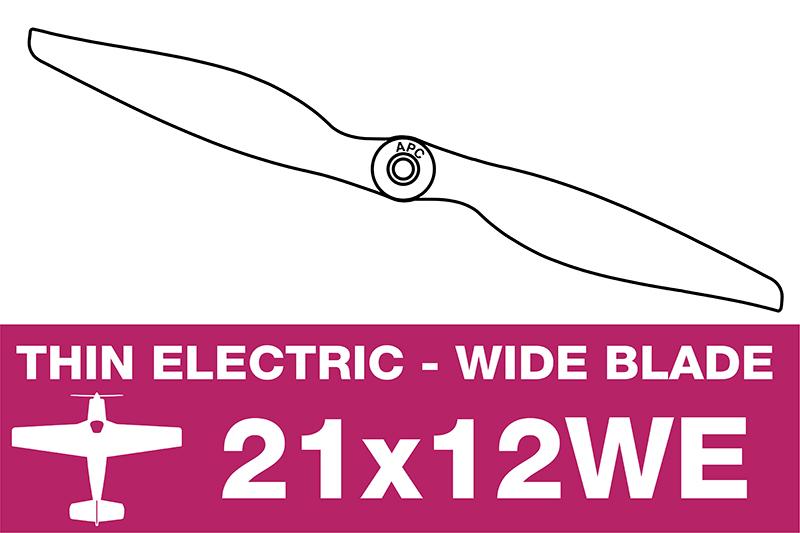 APC - Electro Propeller - 21X12WE