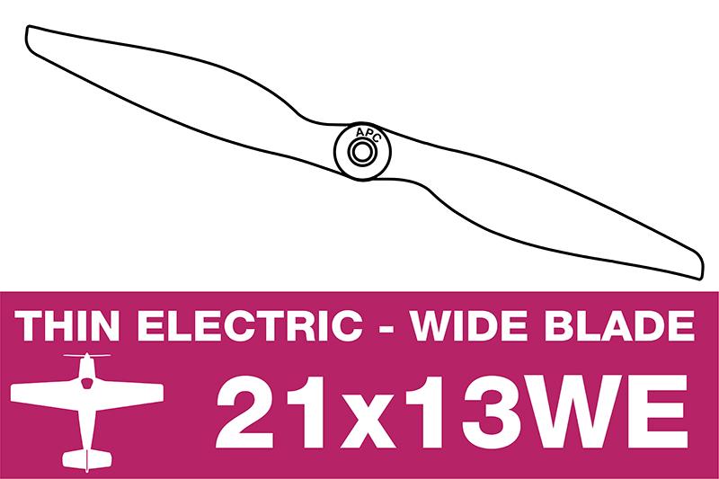 APC - Electro Propeller - 21X13WE