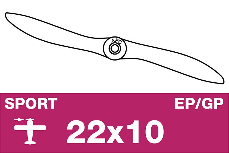 APC - Sport Propeller - EP/GP - 22X10