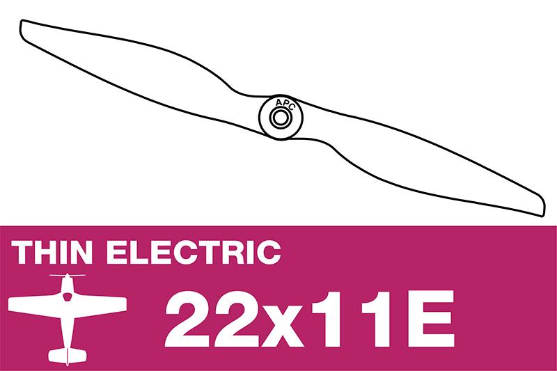 APC - Electric Prop - Thin - 22X11E
