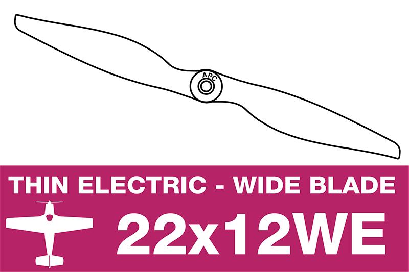 APC - Electro Propeller - 22X12WE