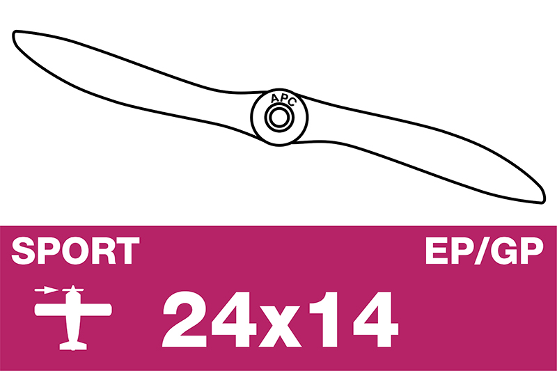 APC - Sport Prop - EP/GP - 24X14